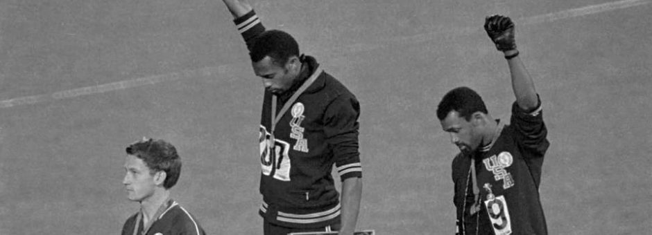 1968 Olympics Raised Fist